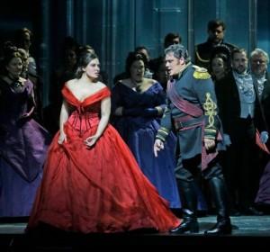 "Sonya Yoncheva as Desdemona and Aleksandrs Antonenko in the title role of Verdi's ""Otello"". Photo: Ken Howard/ Metropolitan Opera"