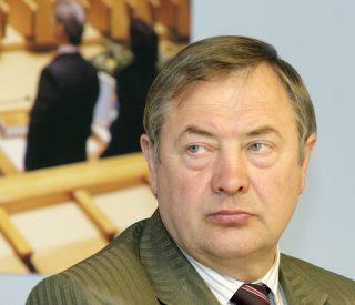 Lietuvos Respublikos Seimo Kaimo reikalø komiteto pirmininko Viktoro Rinkevièiaus Lietuvos Respublikos Seime Vilniuje.